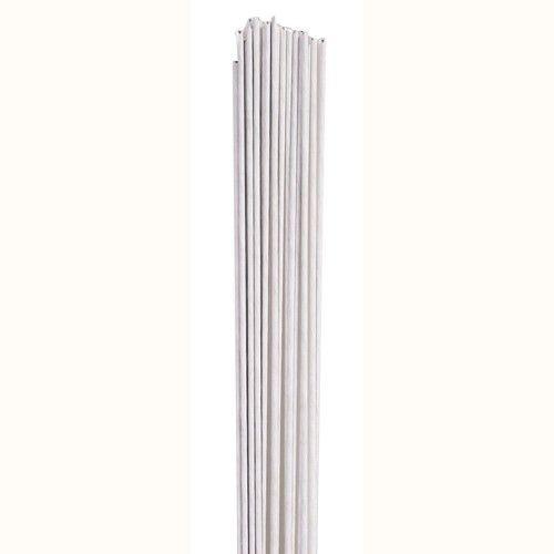 24 G - Weisser Blumendraht 100 Stück