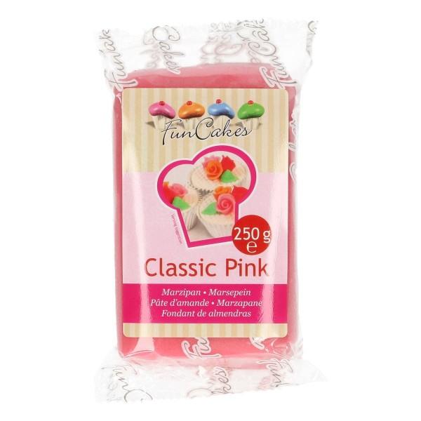 Classic Pink Marzipan ähnliche Zuckermasse von FunCakes - 250gr