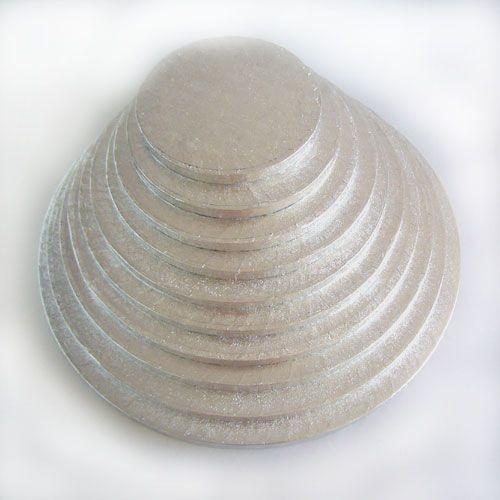 Cakeboard rund Ø 25 cm, 12 mm stark