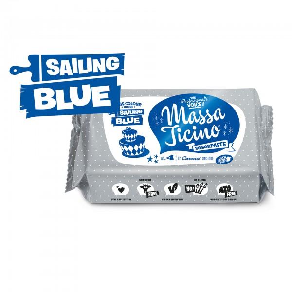 Sailing Blue Fondant Massa Ticino Tropic - 250g