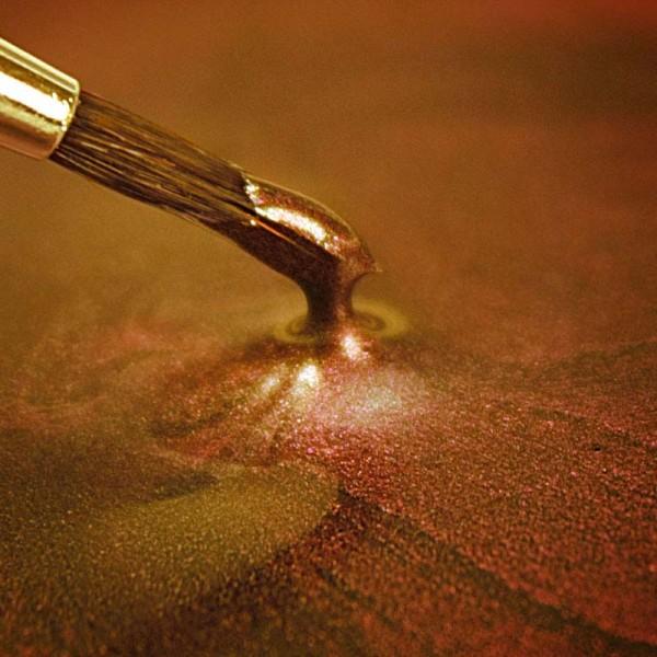RD Metallic Dunkles Gold Lebensmittelfarbe