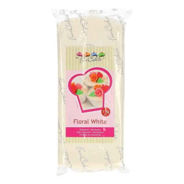 Floral White FunCakes Marzipan - 1kg