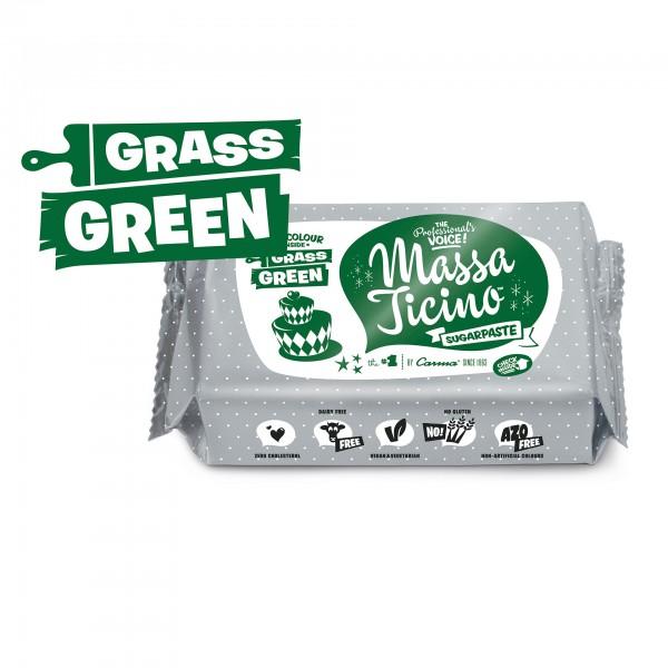 Grass Green Fondant Massa Ticino Tropic - 250g