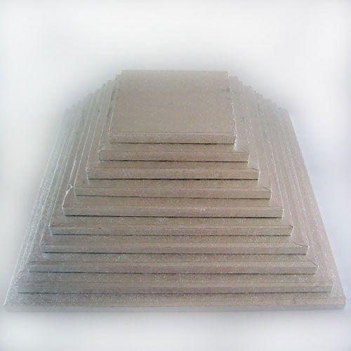 Cakeboard quadratisch 35 x 35 cm, 12 mm stark