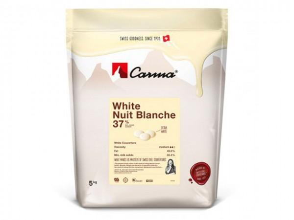 Kuvertüre Carma White Nuit Blanche 1kg