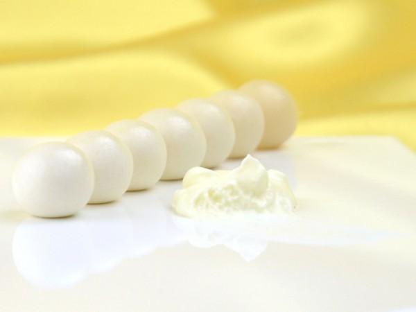 Perlweiß - Lebensmittelfarbe Paste 25g