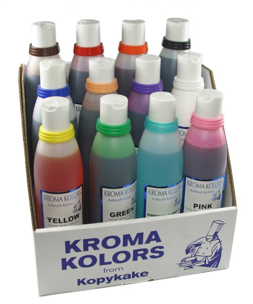 Kroma Kolors Airbrush Farben Set