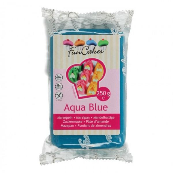 Aqua Blue Marzipan ähnliche Zuckermasse von FunCakes - 250gr