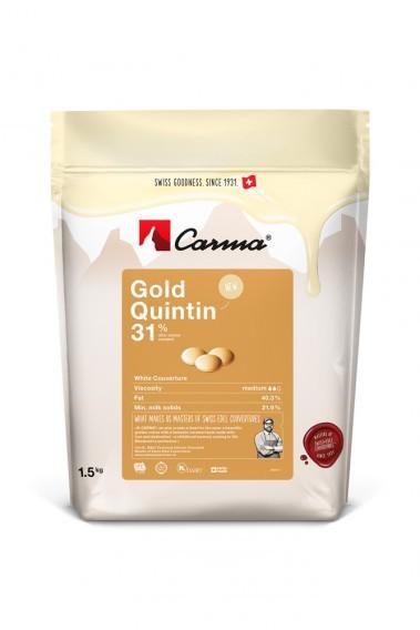 Kuvertüre Carma Gold Quintin - 1,5 kg