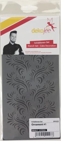 Schablonen Set Ornament #1