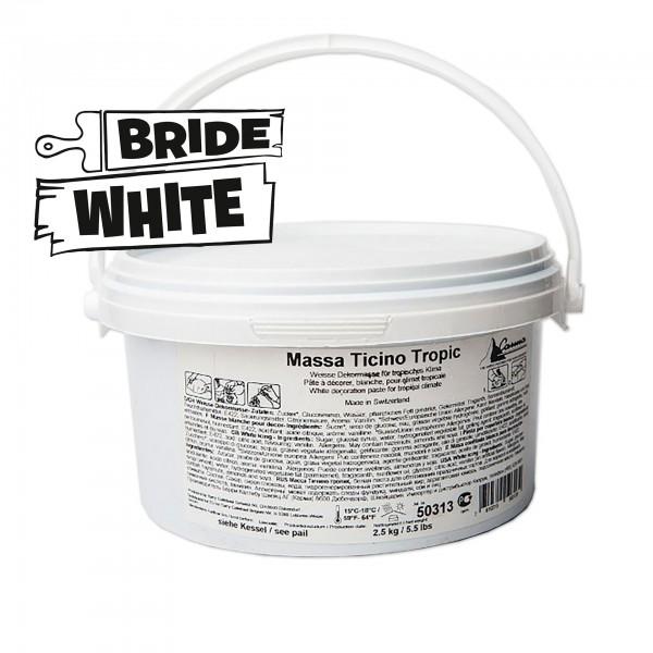 Weisser Fondant Massa Ticino Tropic - 2,5kg