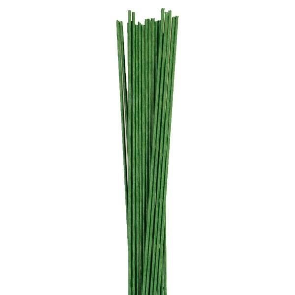 24 G - Grüner Blumendraht 100 Stück