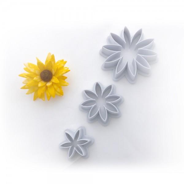 Sonnenblumen Ausstecher Set 3-tlg